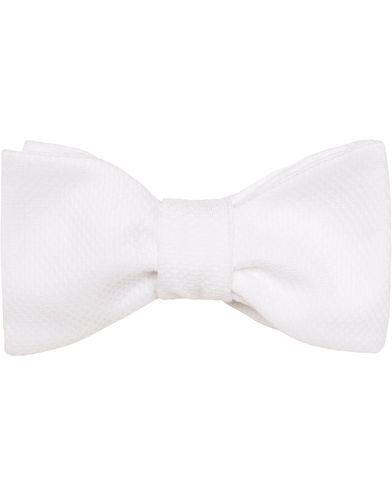 Amanda Christensen Cotton Pique Self Tie White