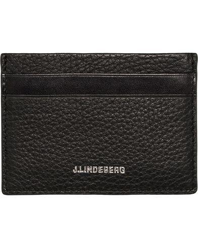 J.Lindeberg Credit Card Holder Black