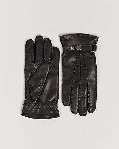 Hestra Jake Wool Lined Buckle Glove Black