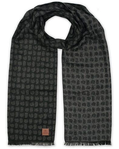 Amanda Christensen Silk Doublefaced Scarf Black