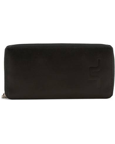 J.Lindeberg Leather Travel Wallet Black