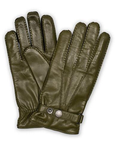 Hestra Jake Wool Lined Buckle Glove Green