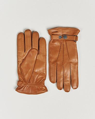 Hestra Jake Wool Lined Buckle Glove Kork