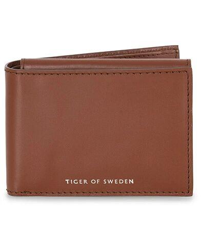 Tiger of Sweden Wair Leather Wallet Brown