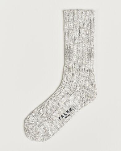 Falke Brooklyn Cotton Sock Light Grey
