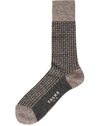 Falke Tailored Tweed Wool Sock Grey