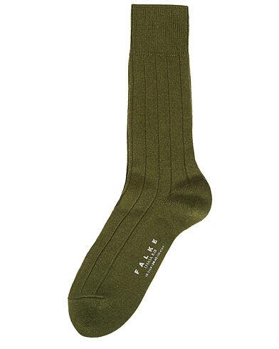 Falke Lhasa Cashmere Sock Forest Green