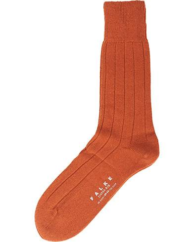 Falke Lhasa Cashmere Sock Orange