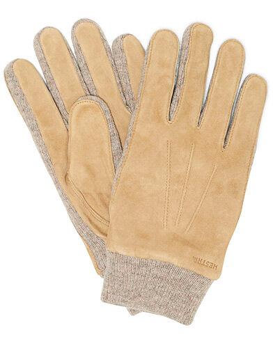 Hestra Geoffery Suede Wool Tricot Glove Camel