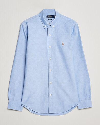 Image of Ralph Lauren Slim Fit Shirt Oxford Blue