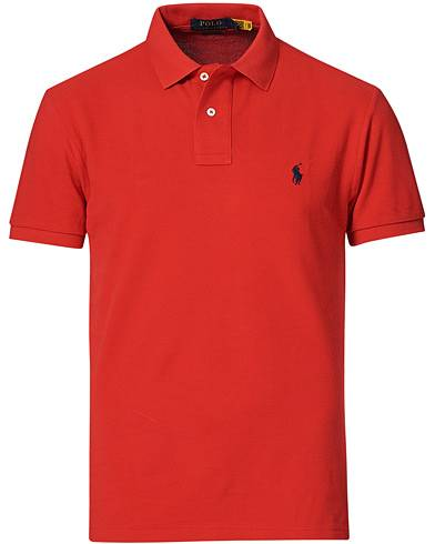 Image of Ralph Lauren Slim Fit Polo Red
