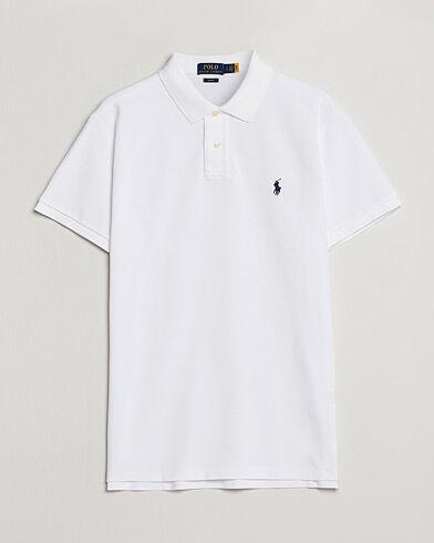 Image of Ralph Lauren Slim Fit Polo White