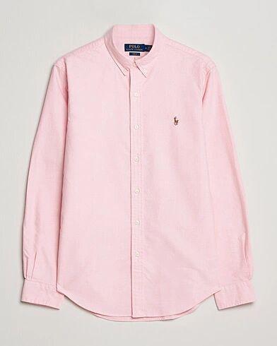 Image of Ralph Lauren Slim Fit Shirt Oxford Pink