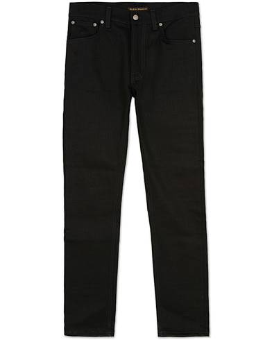 Nudie Jeans Lean Dean Organic Slim Fit Stretch Jeans Dry Cold Black