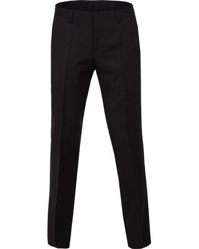 BOSS Gibson Regular Fit Wool Trousers Black
