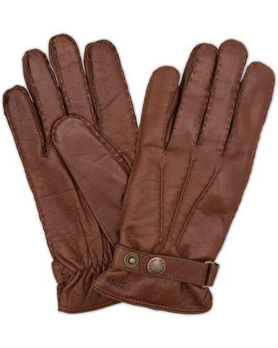 Hestra Jake Wool Lined Buckle Glove Chestnut