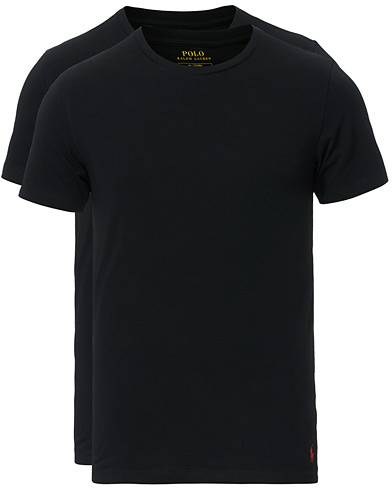 Ralph Lauren 2-Pack Cotton Stretch Polo Black