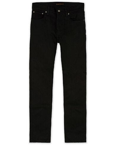 Nudie Jeans Tilted Tor Organic Slim Fit Stretch Jeans Dry Everblack