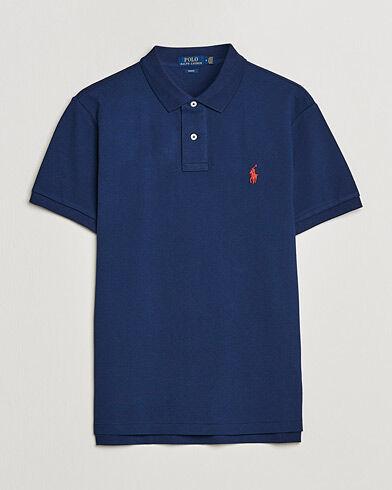 Ralph Lauren Slim Fit Polo Newport Navy