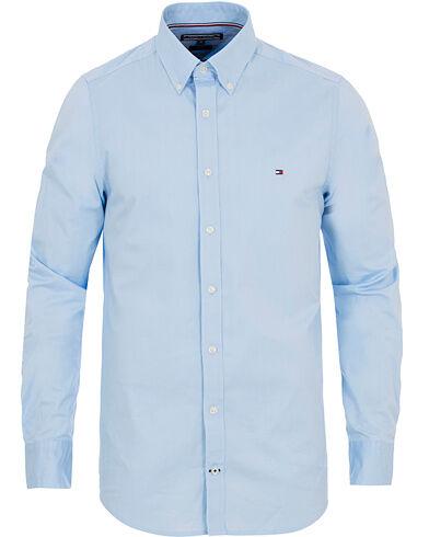 Tommy Hilfiger Slim Fit Stretch Poplin Shirt Light Blue