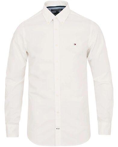Tommy Hilfiger Slim Fit Stretch Poplin Shirt Bright White