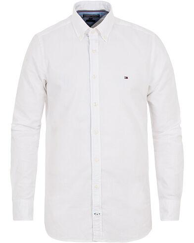 Tommy Hilfiger Slim Fit Stretch Oxford Shirt Bright White