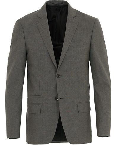 Filippa K Rick Cool Wool Blazer Grey Melange