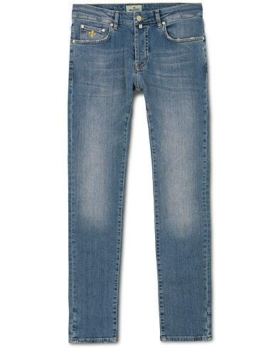 Morris Steeve Vintage Stretch Jeans Old Blue