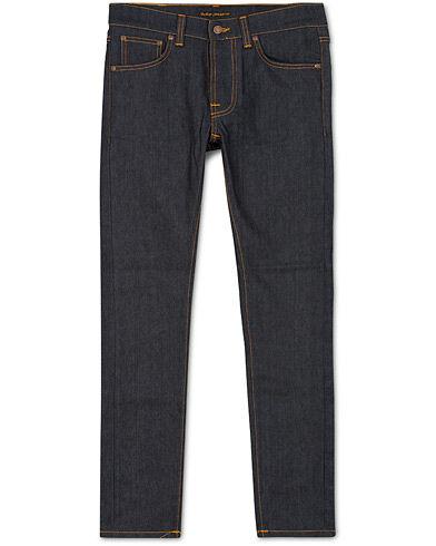 Nudie Jeans Tilted Tor Organic Slim Fit Jeans Dry Pure Navy