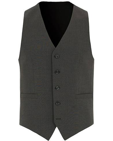 Tiger of Sweden Litt Wool Waistcoat Grey