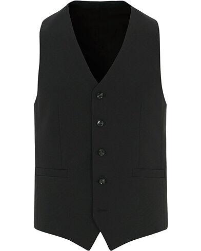Tiger of Sweden Litt Wool Waistcoat Black