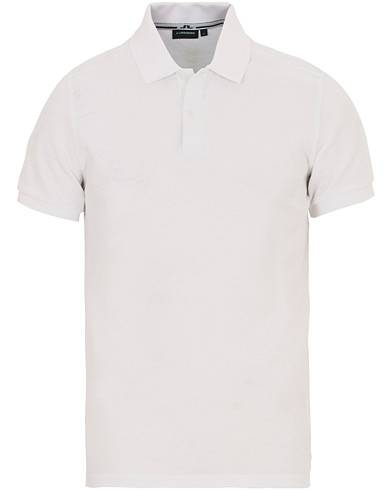 J.Lindeberg Slim Fit Troy Clean Pique White