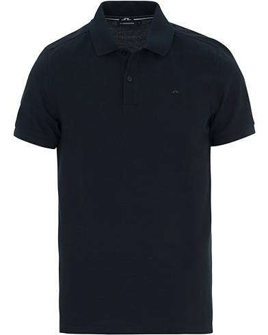 J.Lindeberg Slim Fit Troy Clean Pique Navy