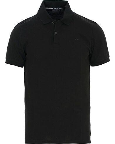 J.Lindeberg Slim Fit Troy Clean Pique Black
