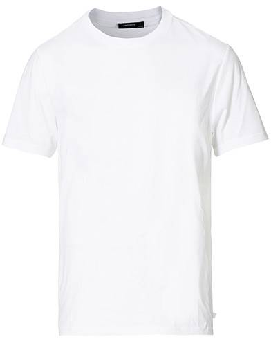 J.Lindeberg Silo Fine Cotton Crew Neck Tee White