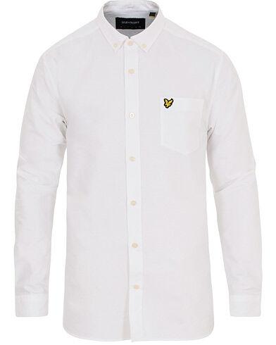 Lyle & Scott Oxford Shirt White