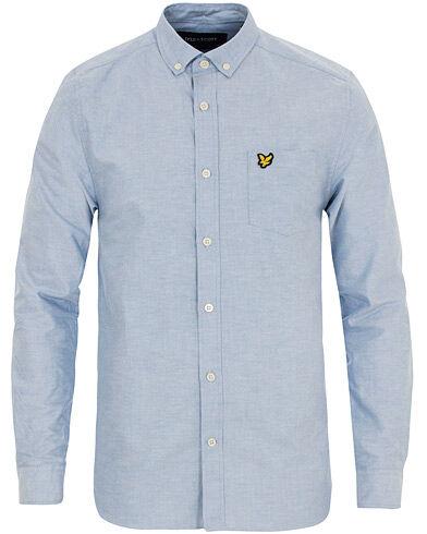 Lyle & Scott Oxford Shirt Riviera Blue