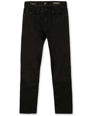 BOSS Casual Delaware Slim Fit Stretch Jeans Black