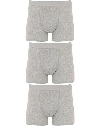 Bread & Boxers 3-Pack Boxer Brief Grey Melange
