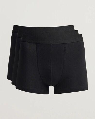 Bread & Boxers 3-Pack Boxer Brief Black