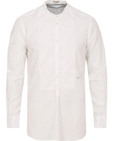 Massimo Alba Kos Popover Shirt  White