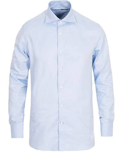 Morris Heritage Howard Cut Away Shirt Light Blue