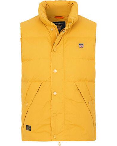 Morris Frank Down Vest Yellow
