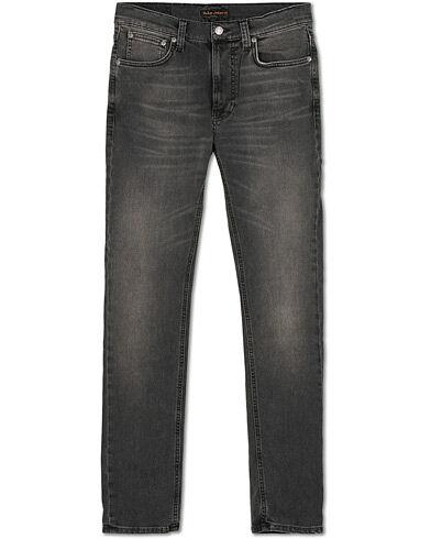 Nudie Jeans Lean Dean Organic Jeans Mono Grey