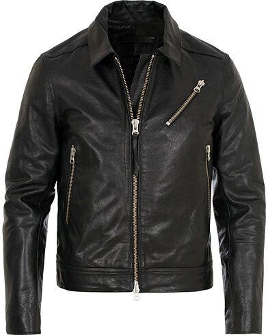 Tiger of Sweden Jeans Tracker Leather Jacket Black