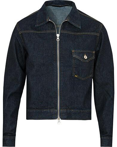 Tiger of Sweden Jeans Ry Zip Jeans Jacket Royal Blue