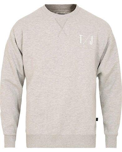Tiger of Sweden Jeans Tom PR Crew Neck Sweatshirt Grey Melange