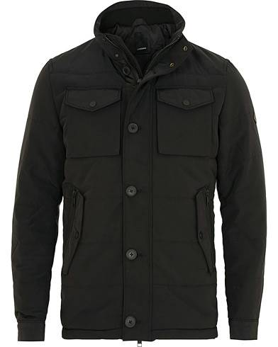 J.Lindeberg Bailey Structured Poly Jacket Black