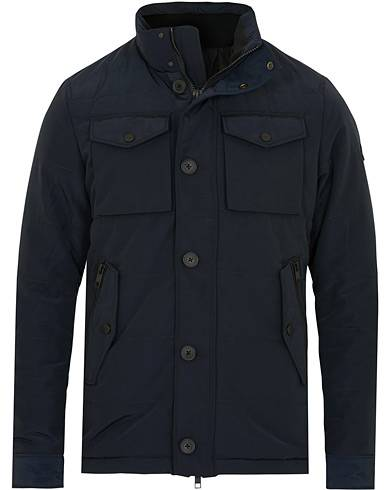 J.Lindeberg Bailey Structured Poly Jacket Navy