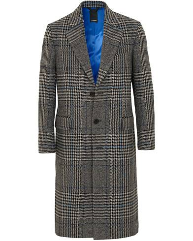 J.Lindeberg James Wool Prince of Wales Coat Wonder Blue